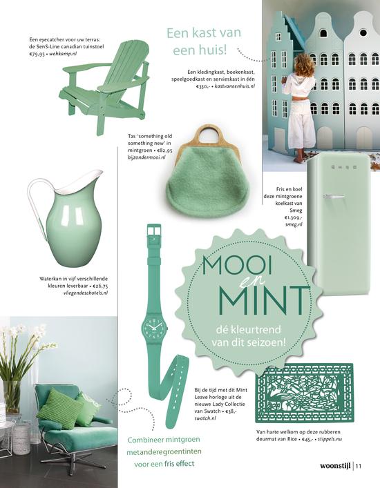 Mintgroen Accessoires Huis.Mint Mooi Woonstijl
