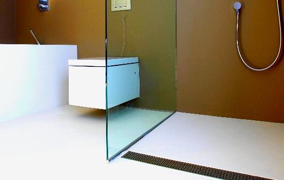 Gietvloer Badkamer Douche : Gietvloer in badkamer en keuken woonstijl