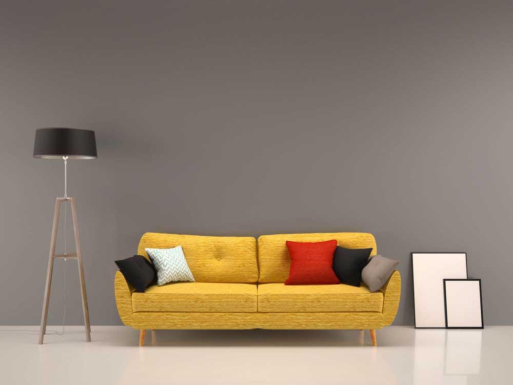 Gezellige kussens op de bank: ga voor basic kleuren