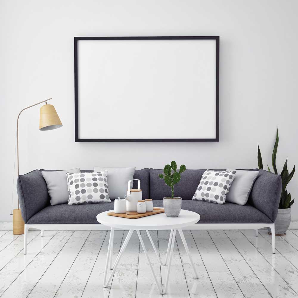 Herinneringen in huis: de grote foto aan de muur