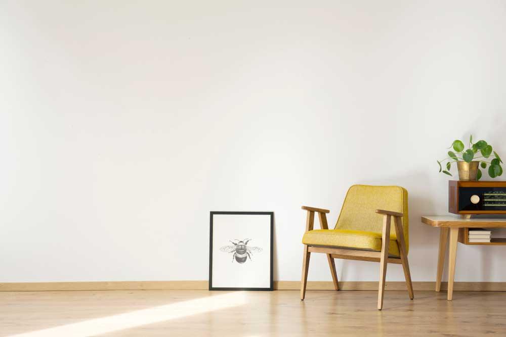 De klassieke stoel in de woonkamer: altijd goed