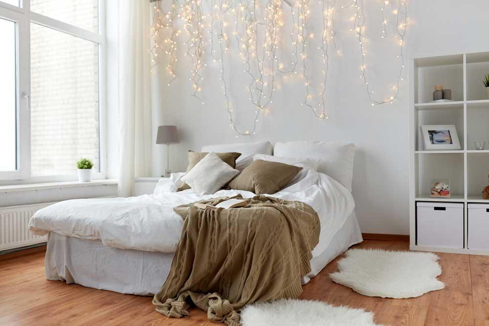 Verlichting in de slaapkamer mag niet ontbreken
