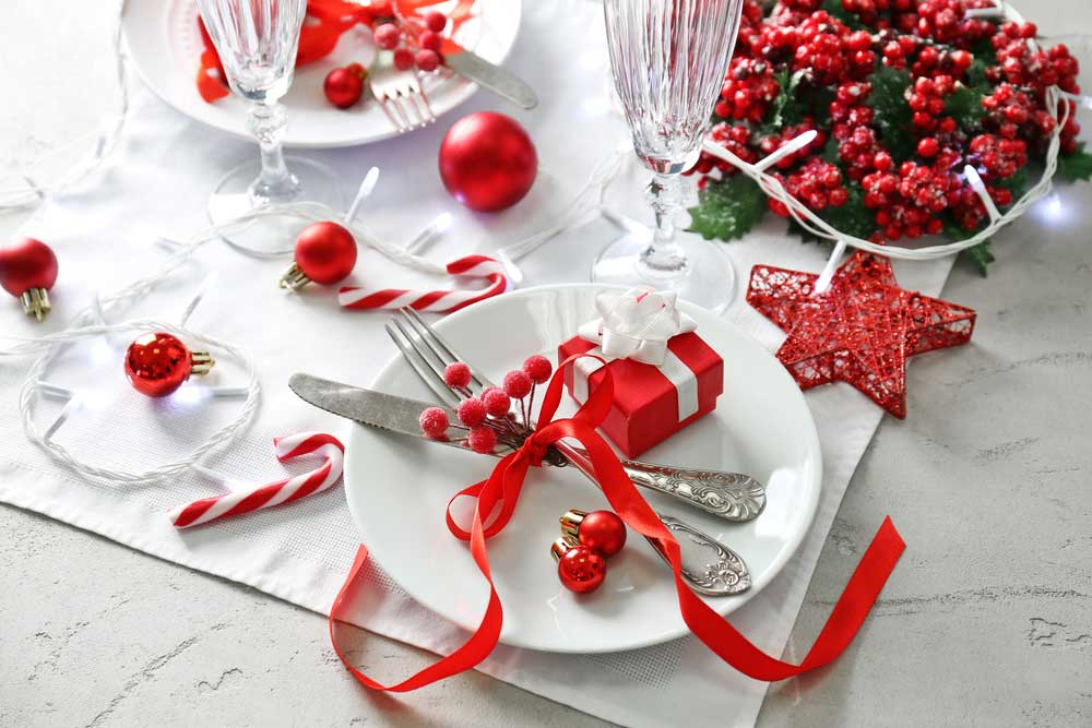 Tips voor het versieren van de kersttafel