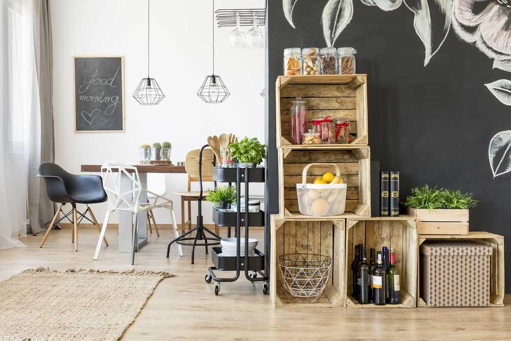 De mooiste manieren om wijn op te bergen in huis