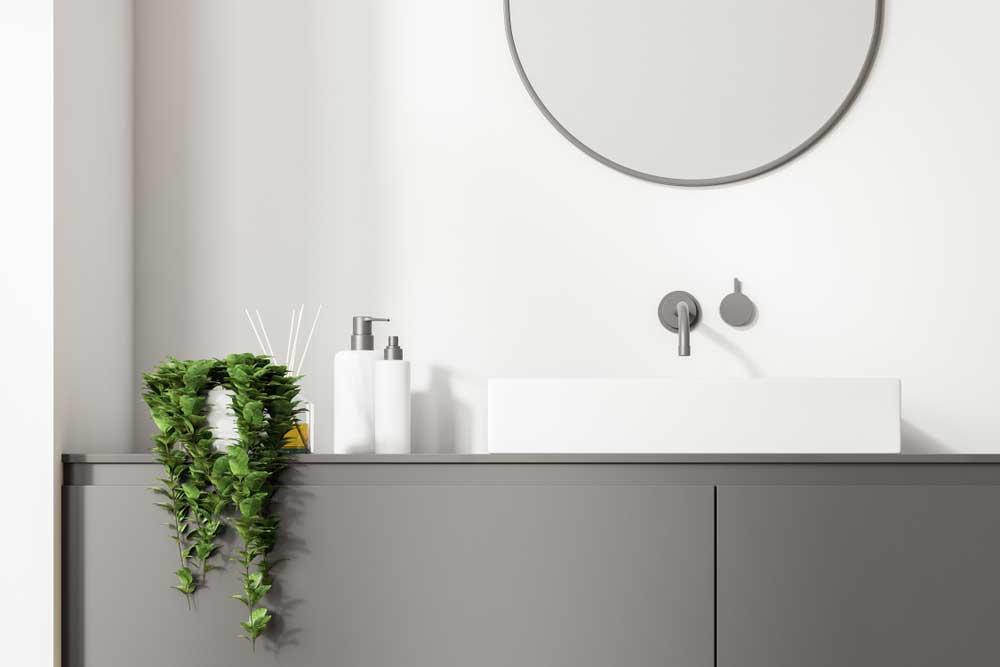 Hangplanten: ideaal voor de badkamer