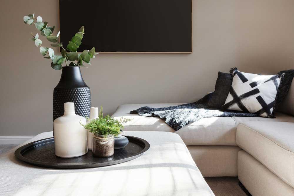 Zwarte accessoires in huis: stijlvol en elegant
