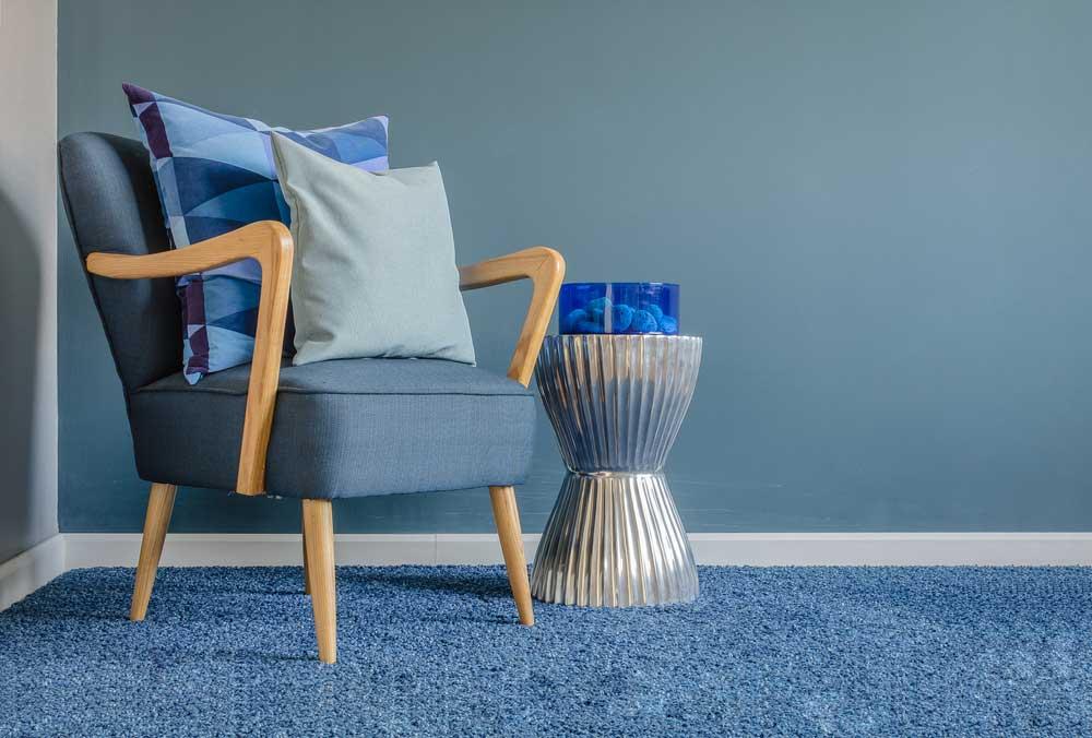 Een kleur op de vloer: ga voor blauw