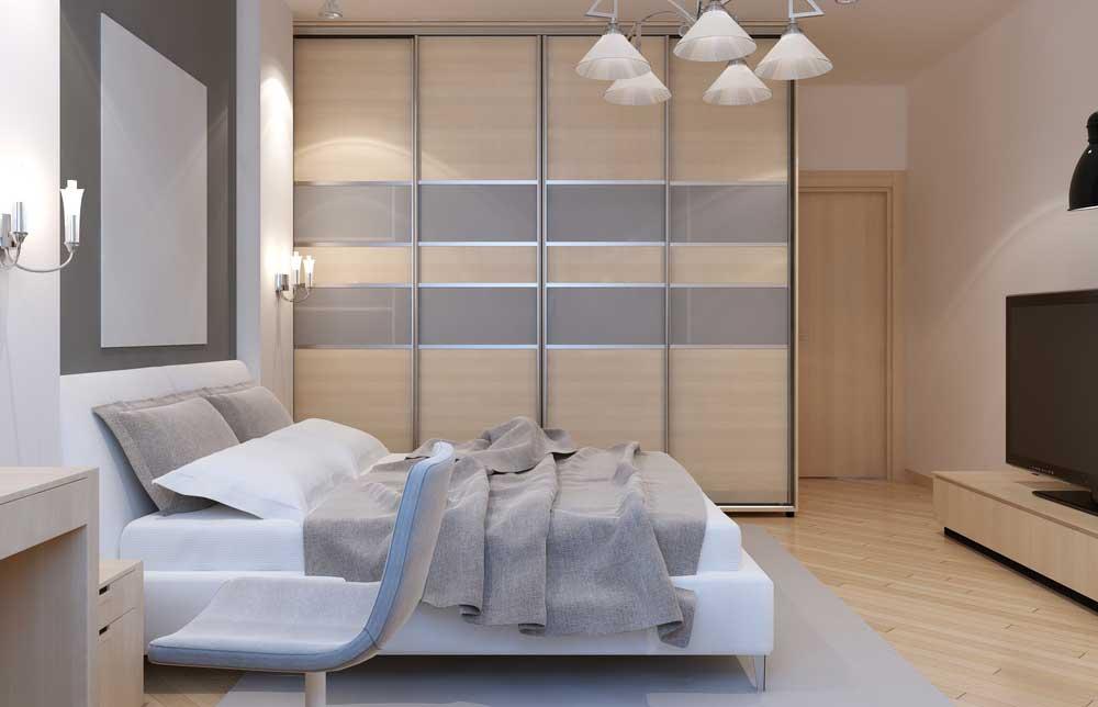Kastruimte in de slaapkamer: zorg dat alles past!