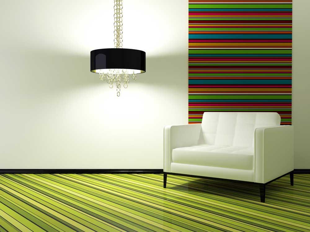 Een kleur op de vloer: de mooiste voorbeelden