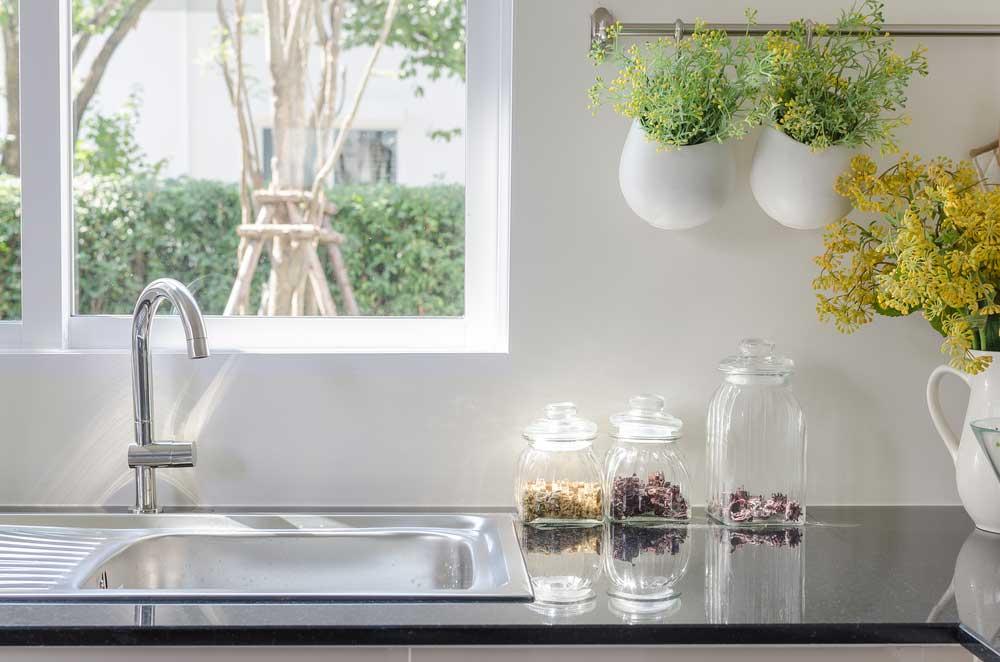 Hangplanten in de keuken mogen niet ontbreken