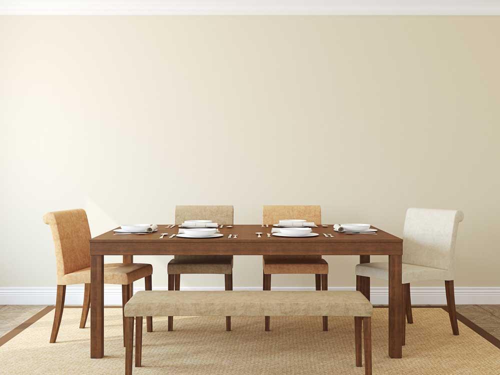 De bank naast de eettafel: voorbeelden en inspiratie
