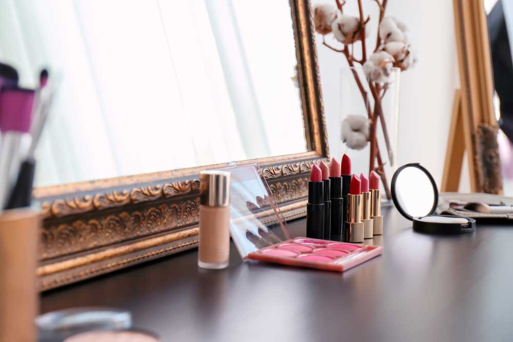 Een make-up hoek in huis: de mooiste voorbeelden