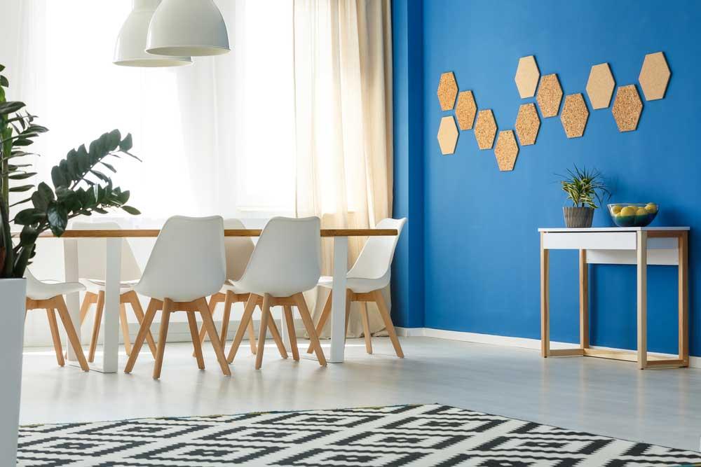 Rustgevend en stijlvol: kurk aan de muur