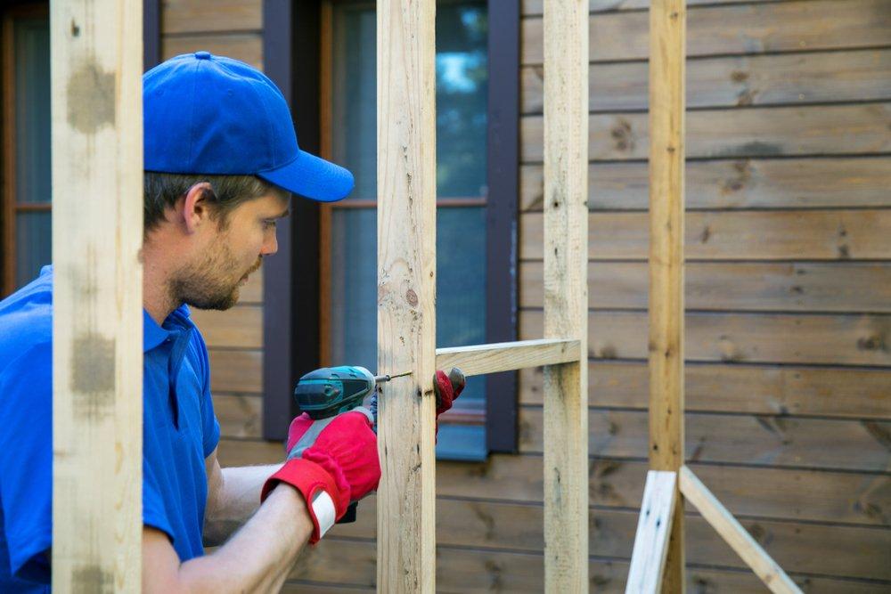 Frame schuur bouwen