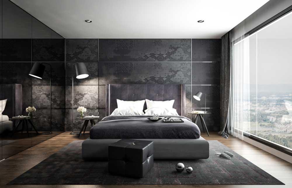 De donkere slaapkamer: sfeervol en rustgevend