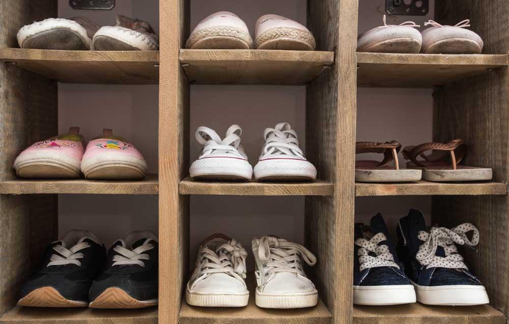 Schoenen opbergen in huis: zo doe je dat!