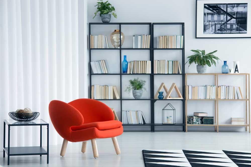 Boeken opbergen in huis: voorbeelden en inspiratie