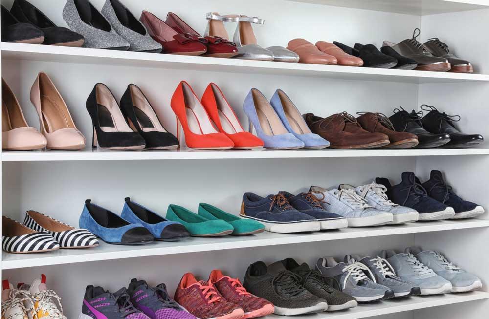 Op een rij: alle tips voor het opbergen van je schoenen in huis