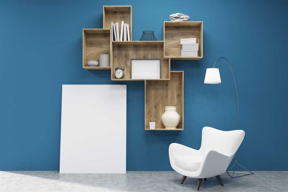 DIY: een eigen boekenkast maken in de woonkamer