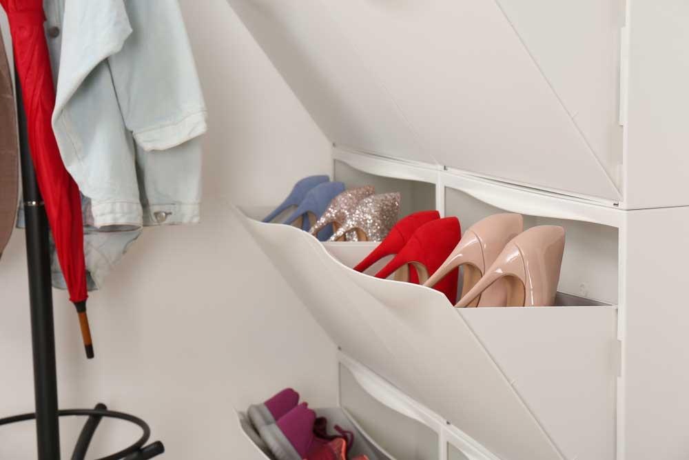 Mooi en praktisch: een schoenenkast