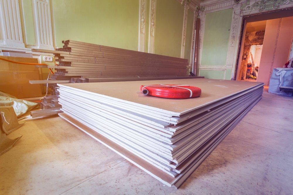 Wand materiaal berekenen