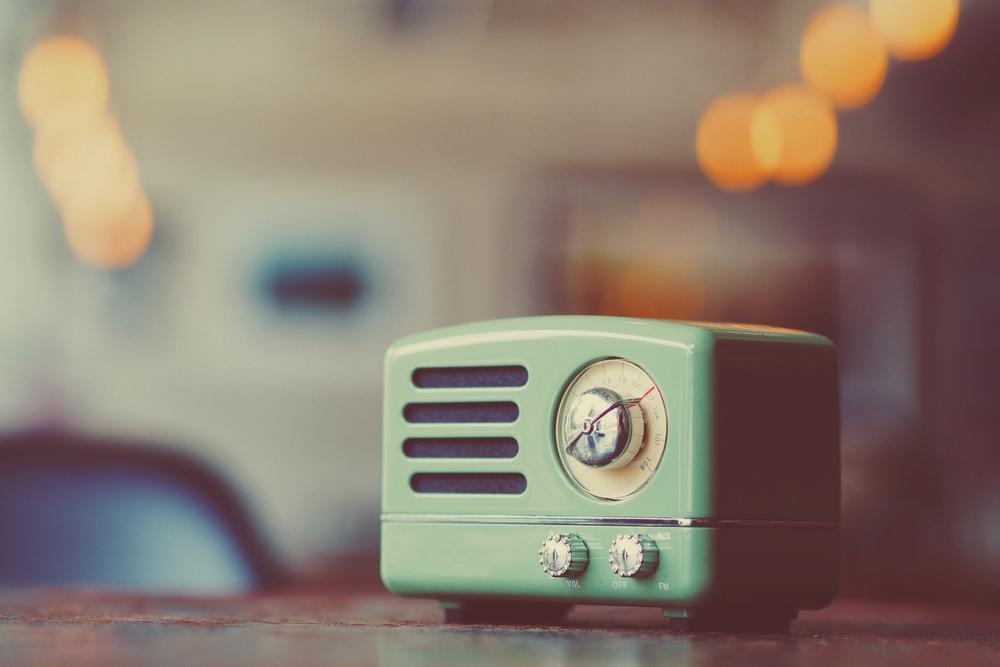 Ouderwetse radio