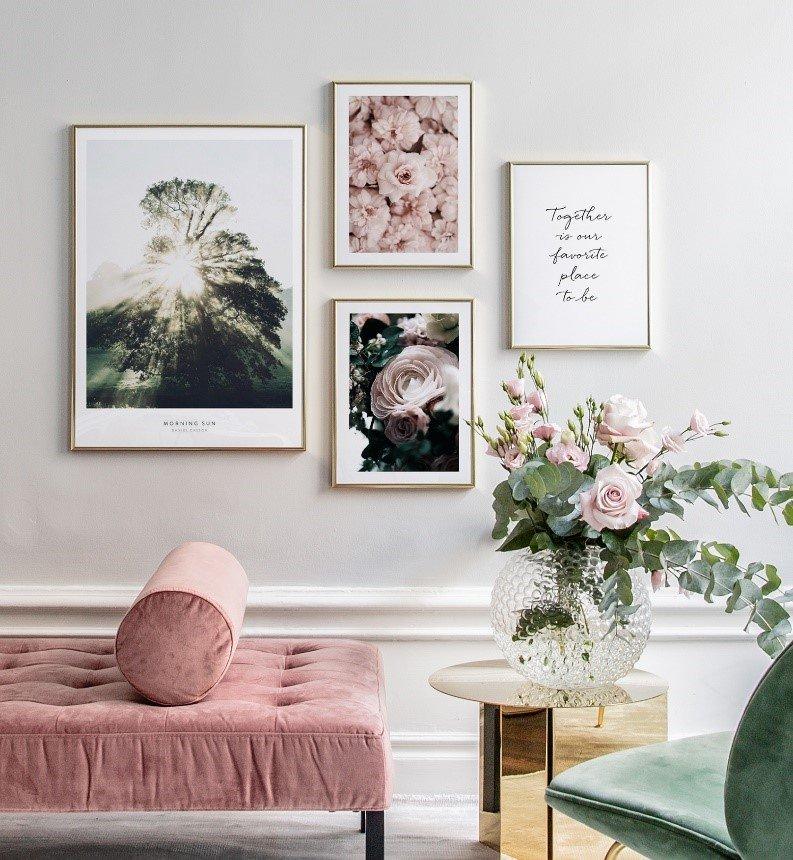 Romantisch met rozen