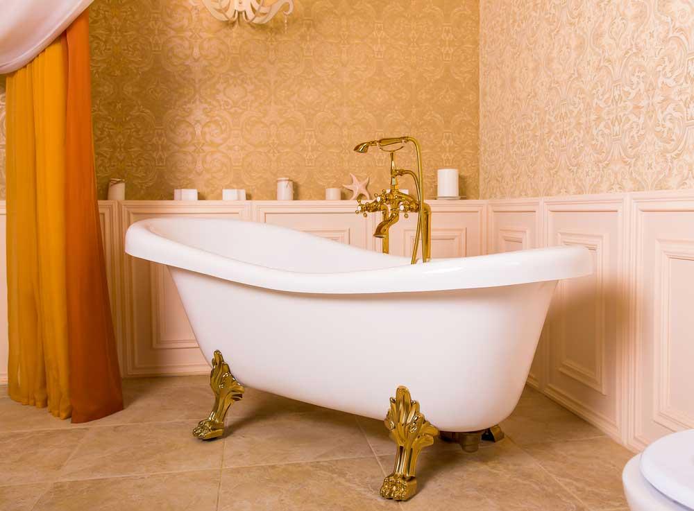 Prachtig: een gouden bad!
