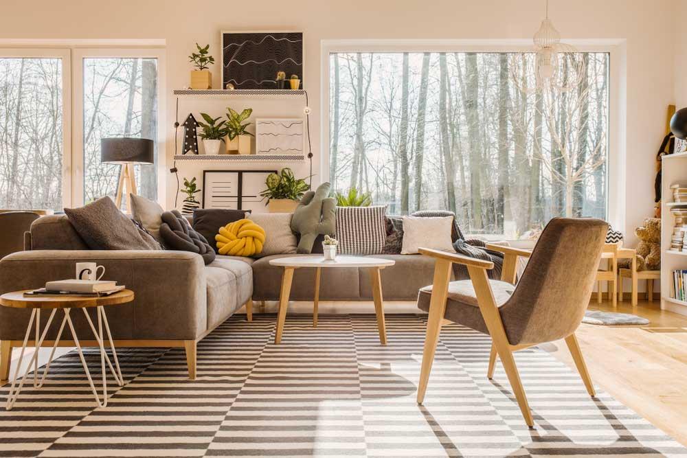 Grote ramen in de woonkamer: meer licht!