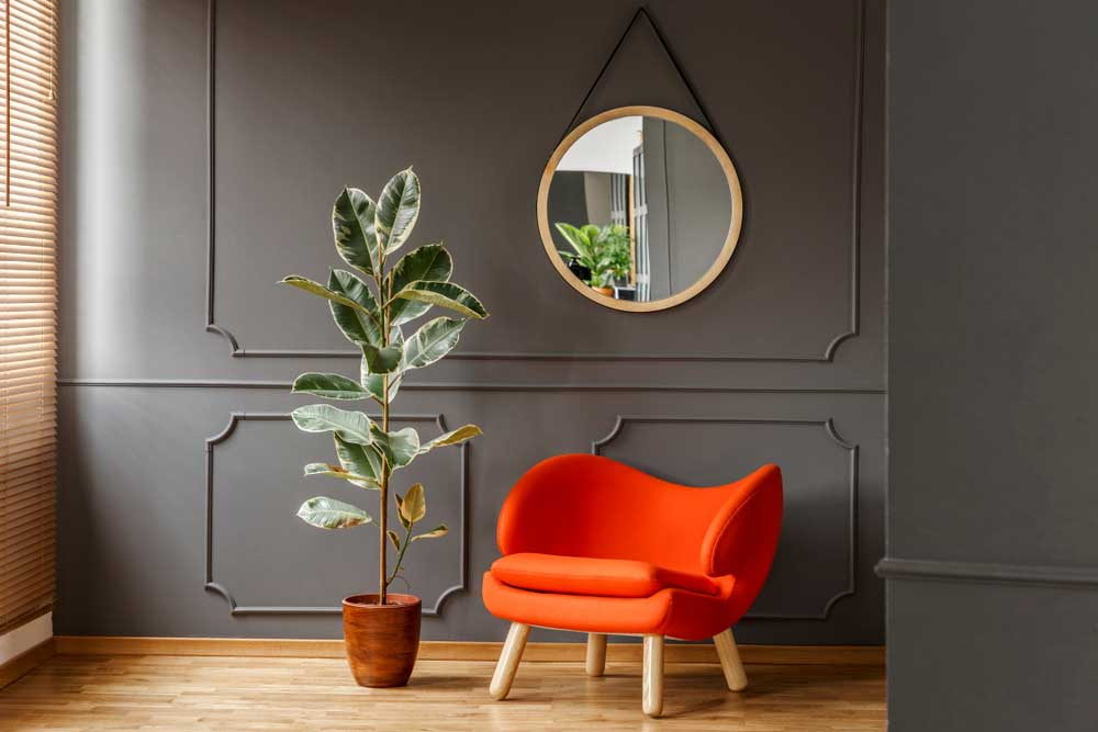 Een ware trend: de ronde spiegel in huis