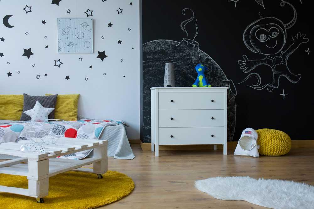 Het ruimtethema in de slaapkamer: ideaal voor avontuurlijke kids