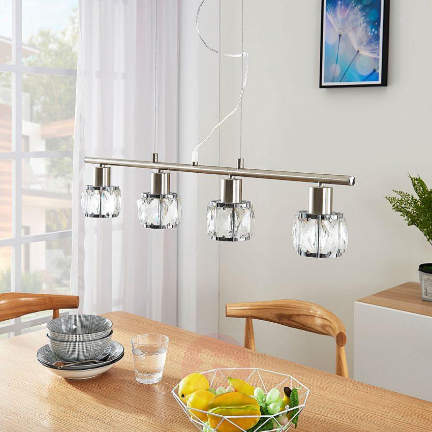 Hedendaags 6 prachtige led-hanglampen voor boven de eettafel - Woonstijl NA-19