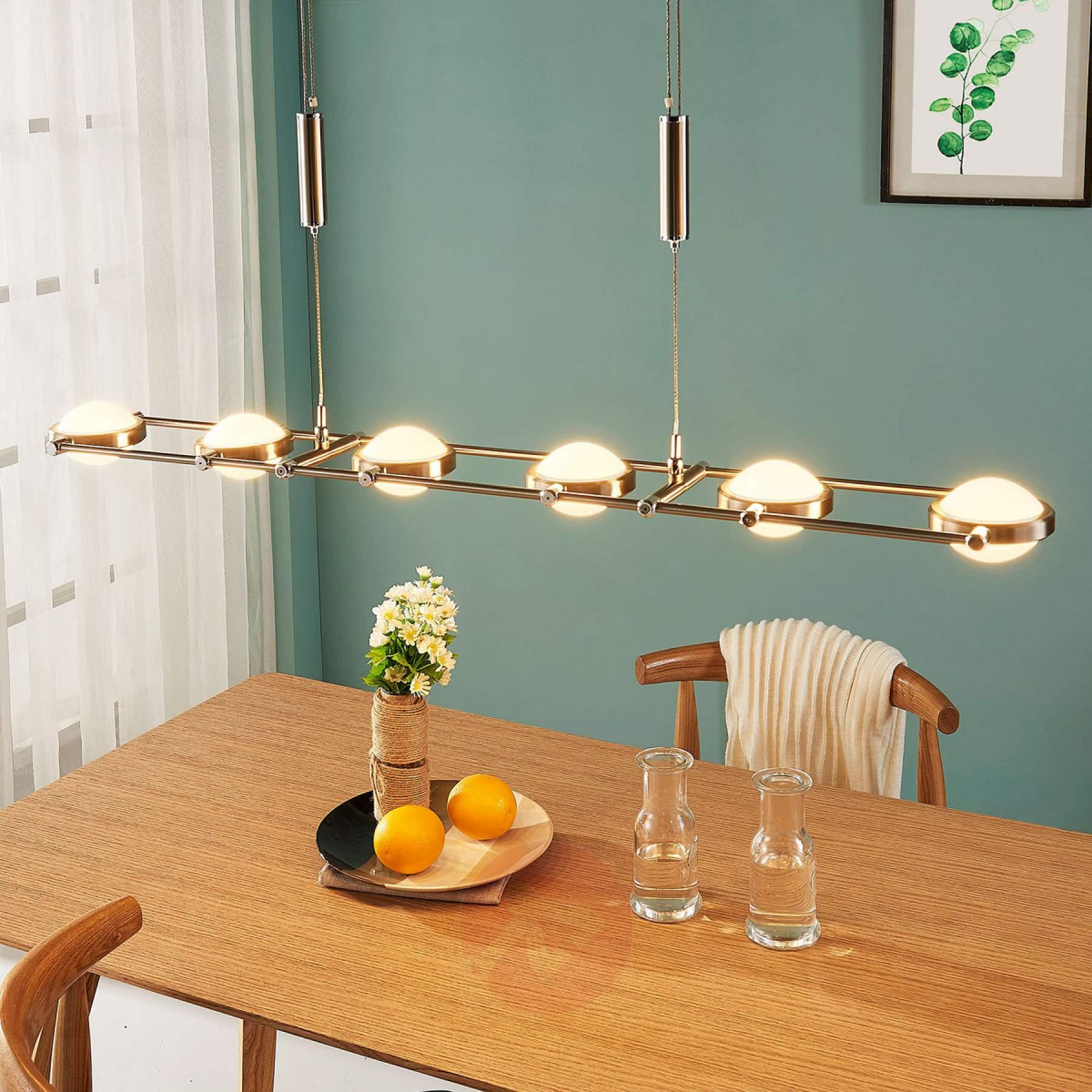 6 Prachtige Led Hanglampen Voor Boven De Eettafel Woonstijl