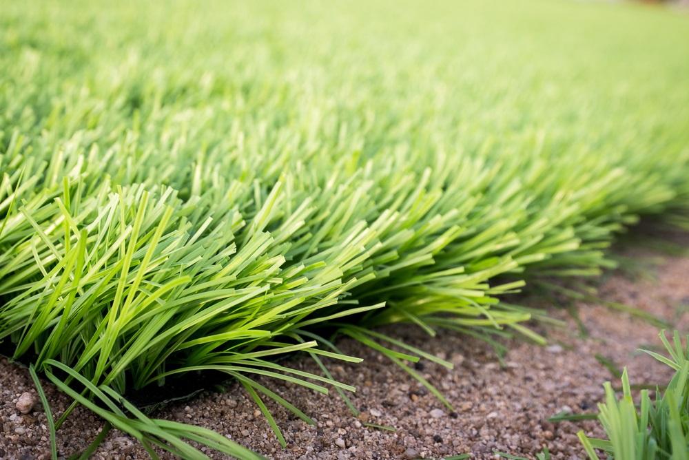 Kunstgras is net echt gras