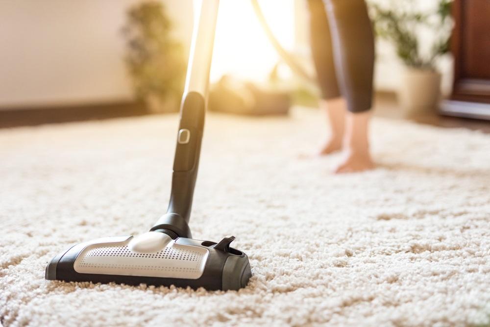 Fris huis stofzuigen