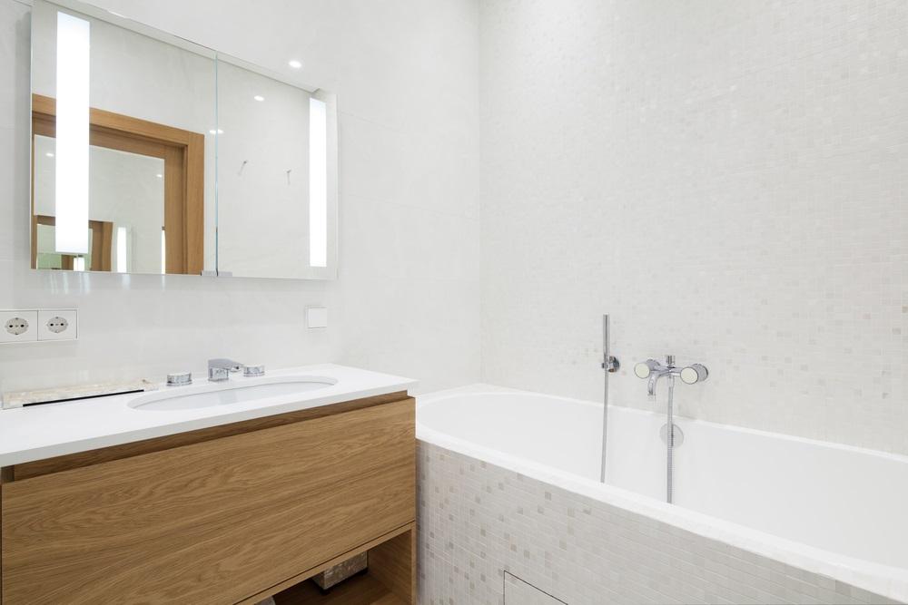 Meer sfeer in de badkamer met ledverlichting.
