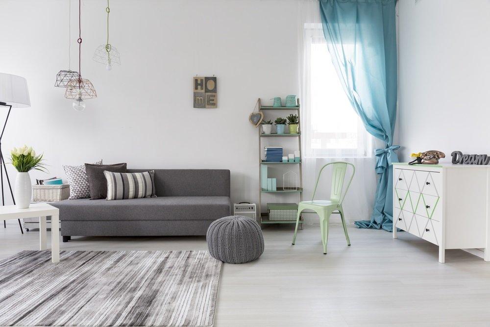 Een stijlvolle poef of fauteuil